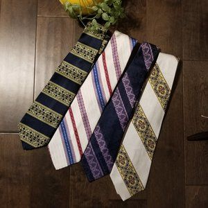 FREE w/purchase Cool Vintage Tie Lot